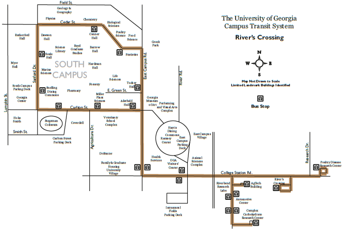 Screenshot of Rivers' Crossing map.